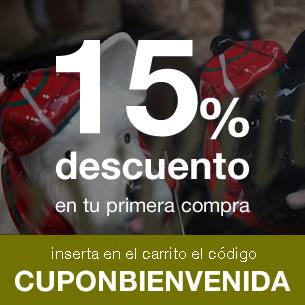 Promoción 15% descuento en la primera compra