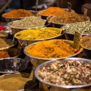 Currys y Sabores del Mundo (Mezclas de especias)