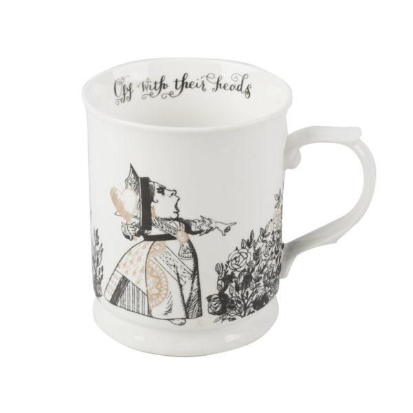 "Taza 400 ml. Alicia-Reina de corazones ""Alice in Wonderland"""