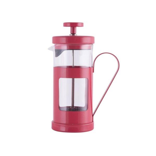 """Cafetera/tetera Émbolo Mónaco 3 tazas roja """"La Cafetiere"""""""