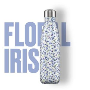 Botella termo floral iris chilly´s