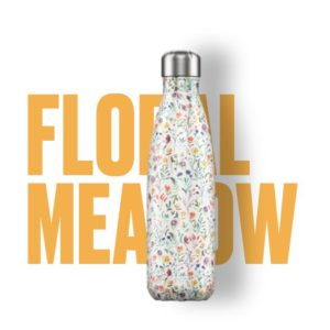 Botella Chilly´s floral meadow