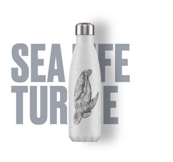 "Botella termo tortuga 500 ml. ""Chilly´s bottles"""