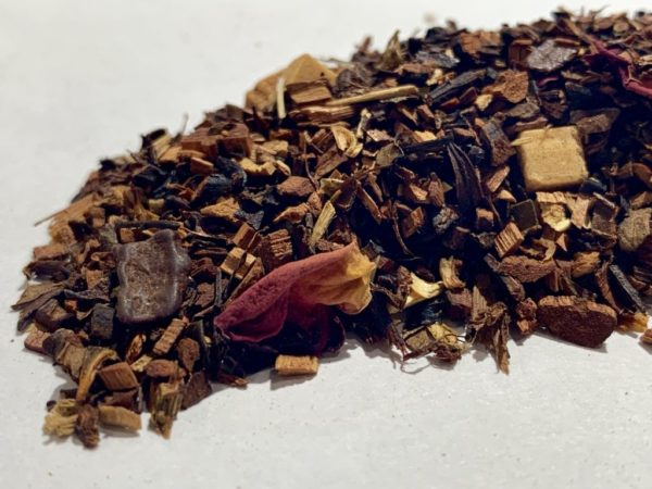 Honeybush pastel del chocolate