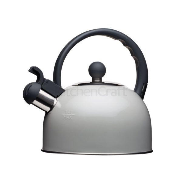 "Kettle nostalgia gris ""KitchenCraft"""