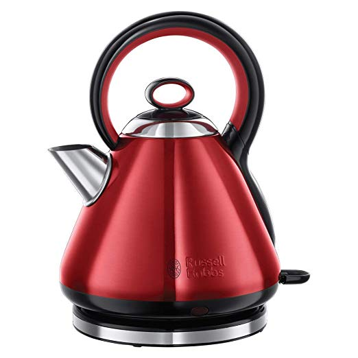 """Hervidor silencioso Legacy red """"Russell Hobbs"""""""