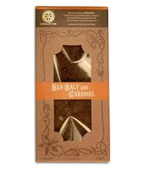 """Tableta de Chocolate negro con sal marina y caramelo """"Chocolate Tree"""""""