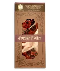 """Tableta de chocolate blanco y frutos del bosque """"Chocolate Tree"""""""