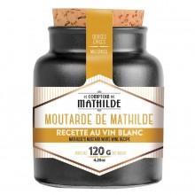 "Mostaza con vino blanco 120 g. ""Le Comptoir de Mathilde"""