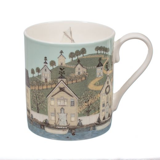 "Taza The Captain's House By Sally Swannell Mug ""Wrendale"""
