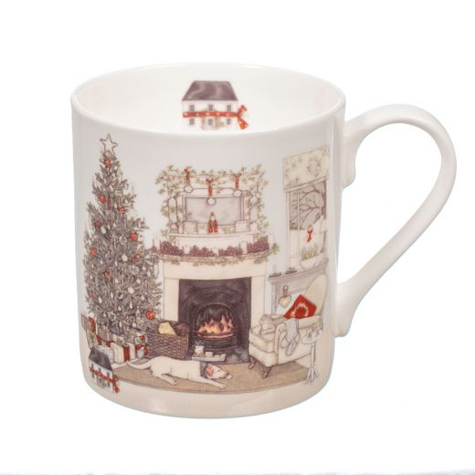 """Taza Christmas Eve By Sally Swannell Mug """"Wrendale"""""""