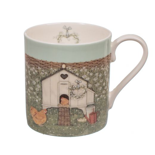 """Taza Hen House by Sally Swannell Mug """"Wrendale"""""""