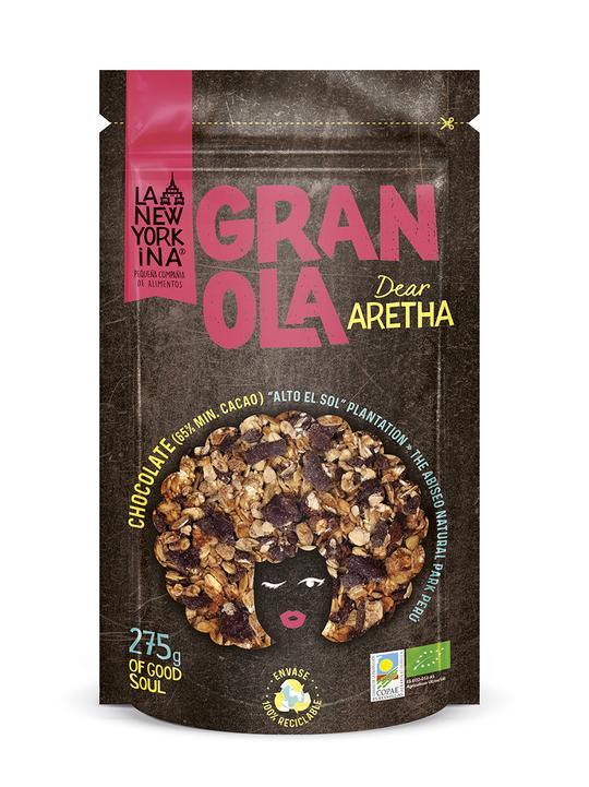 "Granola Dear Aretha ""La Newyorkina"""
