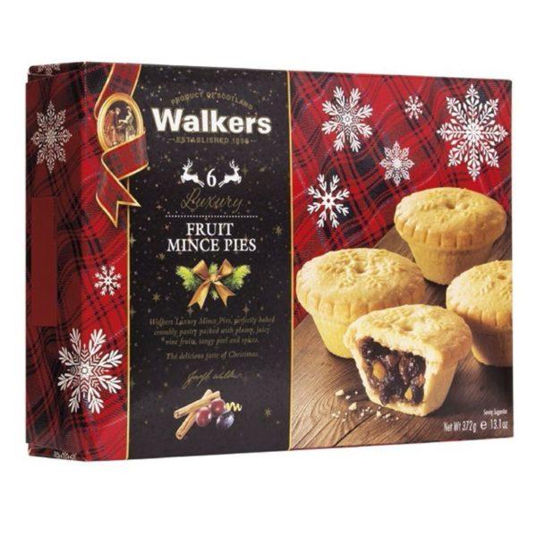 """Tartaletas especiadas de Navidad 372gr. """"Walkers""""."""
